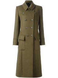 пальто в стиле милитари  Belstaff