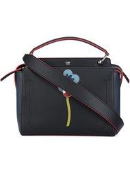 сумка на плечо с цветочной аппликацией  Fendi