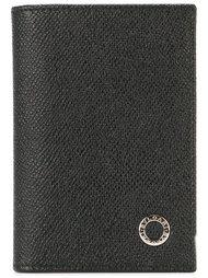 кошелек с тисненым логотипом  Bulgari