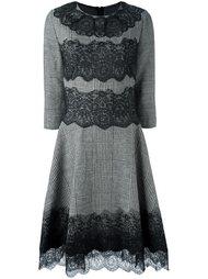 платье с кружевным подолом Ermanno Scervino