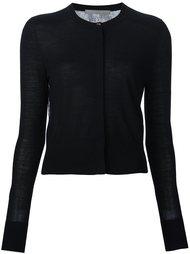 свитер с прозрачной спинкой Jason Wu