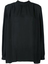 блузка с декорированными манжетами  Christopher Kane