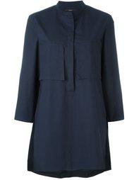 блузка с воротником-мандарин  Odeeh