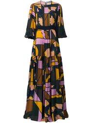 платье макси  Roksanda