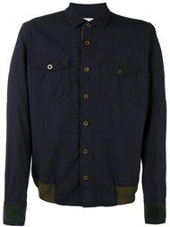 куртка с контрастной окантовкой  Sacai
