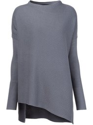 свитер асимметричного кроя  Victor Alfaro