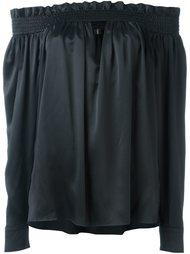 блузка со спущенными плечами  Alexandre Vauthier