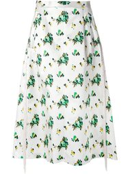 юбка с цветочным принтом Toga
