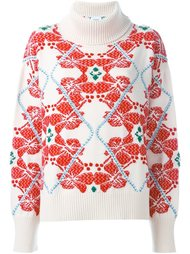 свитер с цветочным узором  Barrie