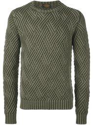 свитер с узором Tod's