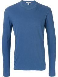 футболка с длинными рукавами  James Perse