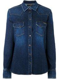 джинсовая рубашка в стиле вестерн Dolce & Gabbana
