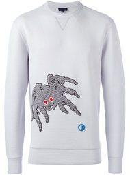 свитер с вышивкой 'Groovin Spider' Lanvin