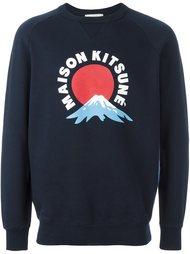 толстовка 'Mont Fuji'  Maison Kitsuné