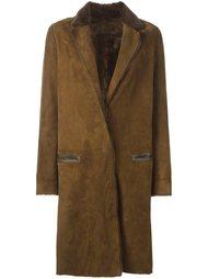 классическое пальто  Yves Salomon