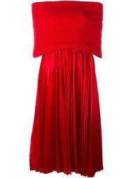 плиссированное платье с открытыми плечами Junya Watanabe Comme Des Garçons