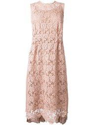 платье с вышивкой Muveil