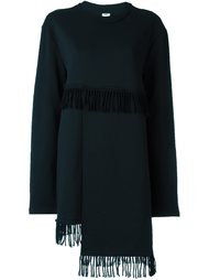 платье с бахромой  Damir Doma