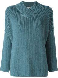 свободный свитер с V-образным вырезом Lanvin
