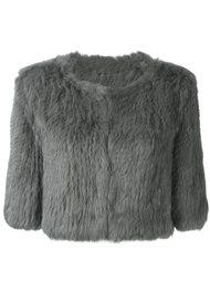 укороченная куртка Yves Salomon