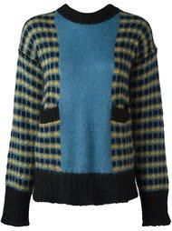 свитер колор-блок  Marni