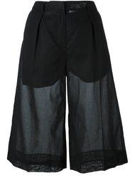 полупрозрачные шорты  Maison Margiela