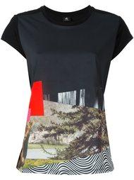 футболка с абстрактным принтом   Ps By Paul Smith
