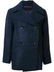 двубортное пальто Martin Grant