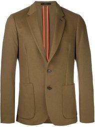 классический пиджак с прямоугольными лацканами Paul Smith