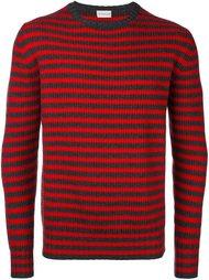 вязаный свитер в полоску  Moncler