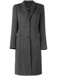 пальто в елочку  Dolce & Gabbana Vintage