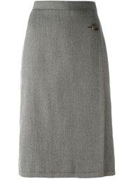 юбка на пуговицах  Yves Saint Laurent Vintage