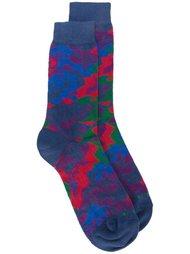 носки с геометрическим принтом Etro