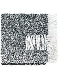 трикотажный шарф из букле Twin-Set