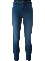 укороченные джинсы кроя скинни  J Brand