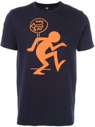 футболка с принтом 'one way'  Ps By Paul Smith