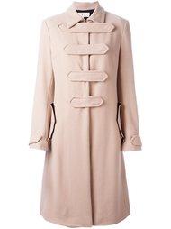 пальто в стиле милитари  Romeo Gigli Vintage