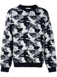 свитер с камуфляжным принтом  Gosha Rubchinskiy ГОША РУБЧИНСКИЙ