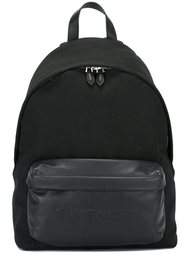 рюкзак с тисненым логотипом  Givenchy
