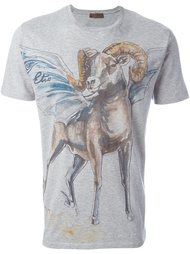 футболка с принтом козы Etro