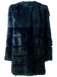 меховое пальто Blugirl