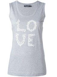 топ 'Love' Dolce & Gabbana
