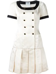 плиссированное платье  Chanel Vintage