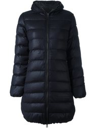 пуховик-пальто с капюшоном Duvetica