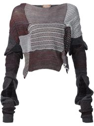 свитер в стиле пэчворк 'Paris'  Vivienne Westwood