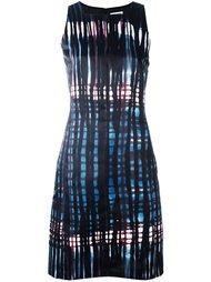 платье с абстрактным узором Tomas Maier