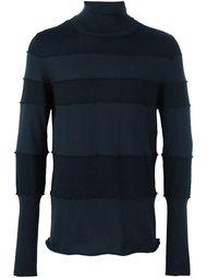 свитер с панельным дизайном в полоску Maison Margiela