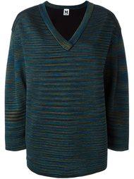 свитер c V-образным вырезом   M Missoni