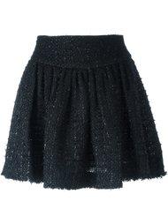 твидовая юбка мини Simone Rocha