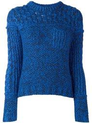 свитер с круглым вырезом  Carven